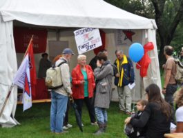 """Wir feiern anders! Links & Solidarisch"""