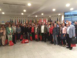 Besuchergruppe in Brüssel