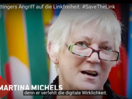 Kampagne #SaveTheLink