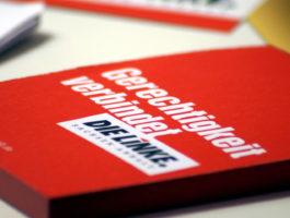 """Landesparteitag der LINKEN in Wittenberg – """"Gerechtigkeit verbindet"""""""