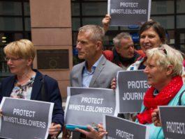 Whistleblowerschutz: Europaparlament macht Druck